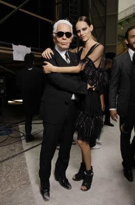 Chanel, smentito l'addio di Karl Lagerfeld