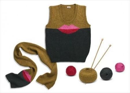 Schemi maglia: il kit fai da te di Kenzo