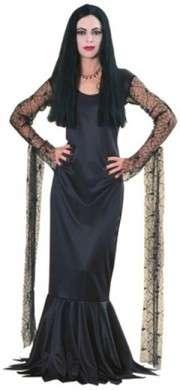 Halloween: il costume di Morticia Addams