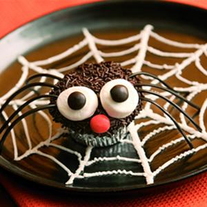 muffin halloween ragno
