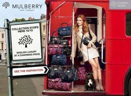 Mulberry for Target: capsule collection low cost