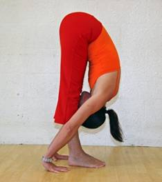 pilates schiena esercizio in piedi