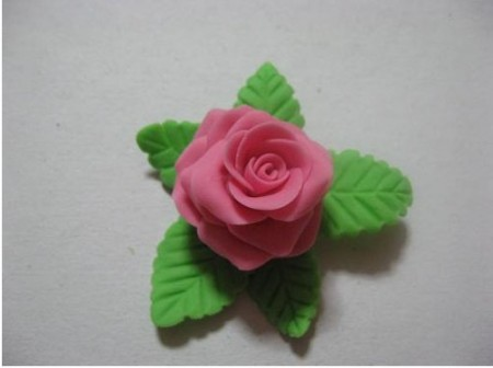 rosa pasta di sale