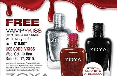 Trucco Halloween: smalto Zoya Vampy Kiss
