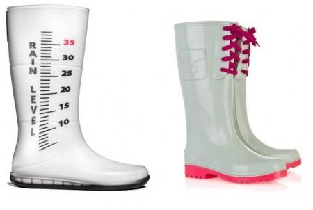 stivali anti pioggia particolari