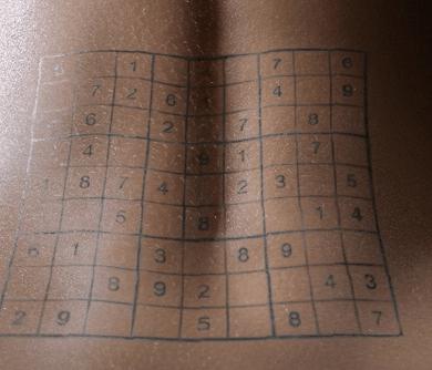 sudoku tattoo