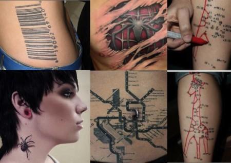 Tatuaggi particolari: le immagini dei tattoo più originali e strani