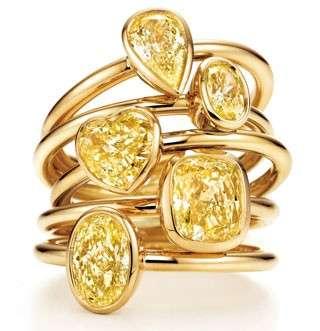 Tiffany & Co. per l'autunno punta sul diamante giallo