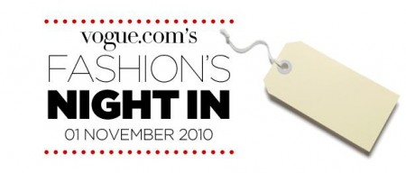 A novembre la prima Vogue Fashion's Night In