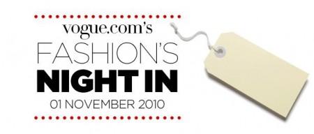 A novembre la prima Vogue Fashion's Night In