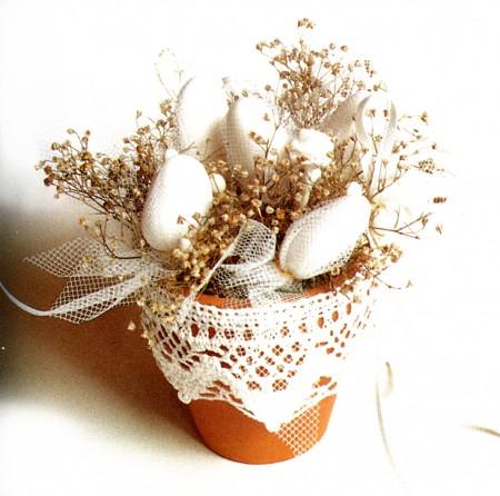 Bomboniere fai da te un vasetto porta confetti pourfemme - Porta piante fai da te ...