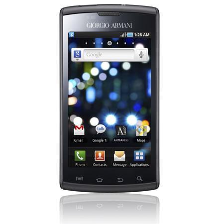 Galaxy S: lo SmartPhone di lusso firmato Armani e Samsung