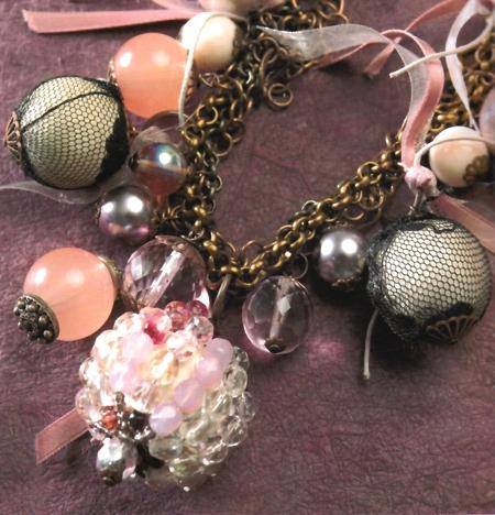 Gioielli fai da te collana perle rivestite