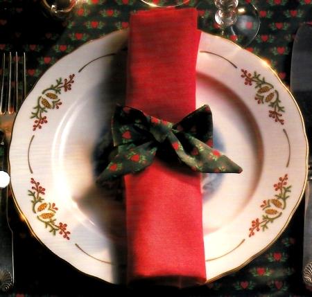 Portatovaglioli fai da te Natale