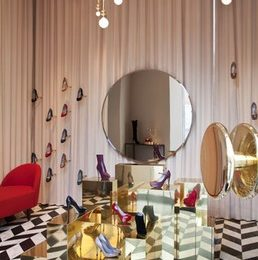 Sergio Rossi: la nuova veste della boutique di Roma