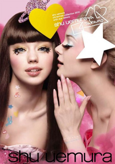 Shu Uemura make up: collezione per il Natale
