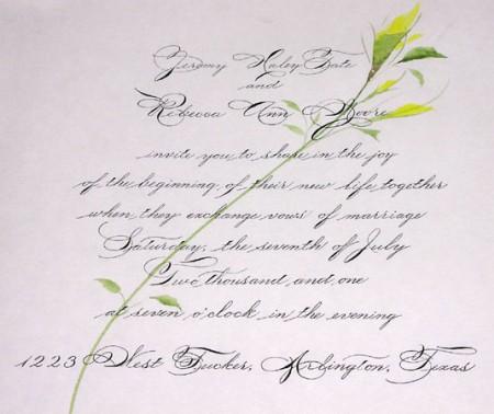 Biglietti Inviti Al Matrimonio Idee Fai Da Te E Da Stampare Foto