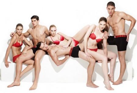 calvin klein ck holiday underwear campaign