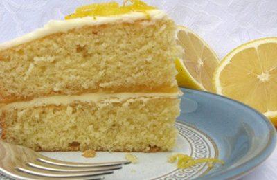 Ricette light: torta di ricotta al limone