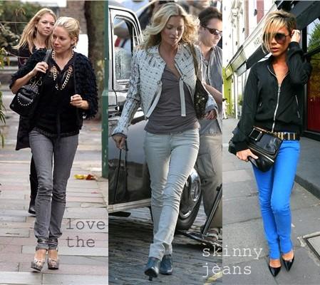 come indossare skinny jeans
