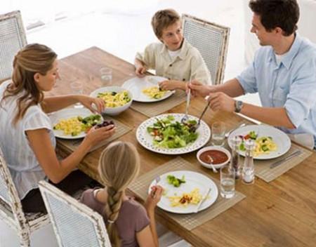 La dieta dei genitori condiziona quella del bambino