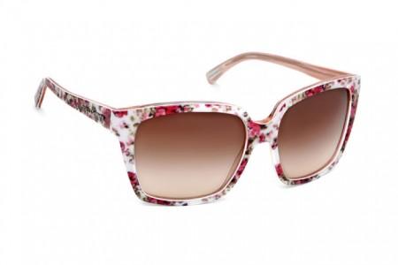 Dolce & Gabbana, occhiali romantici con i fiorellini
