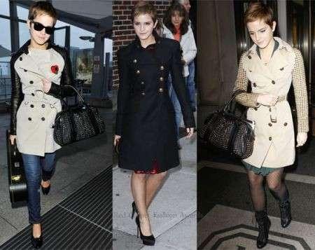 Burberry: Emma Watson e i suoi bellissimi trench