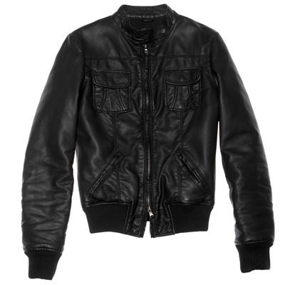 giacca pelle benetton