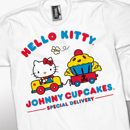 Hello Kitty x Johnny Cupcakes in arrivo a dicembre!