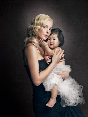 Katherine Heigl star della copertina di W