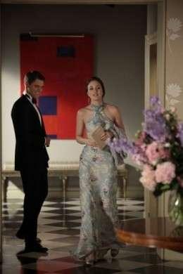 Leighton Meester: Ralph Lauren e Judith Leiber sul set di Gossip Girl
