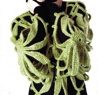 Schemi uncinetto: un maglione molto stravagante