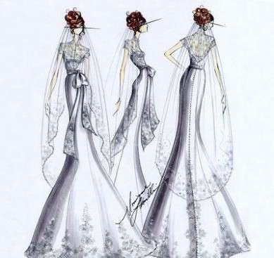 Twilight: le proposte dei designers per l'abito di Bella