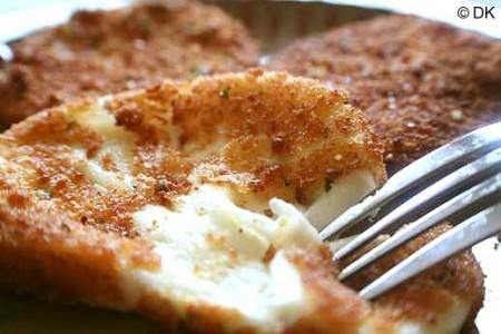 Ricette secondi: mozzarella fritta