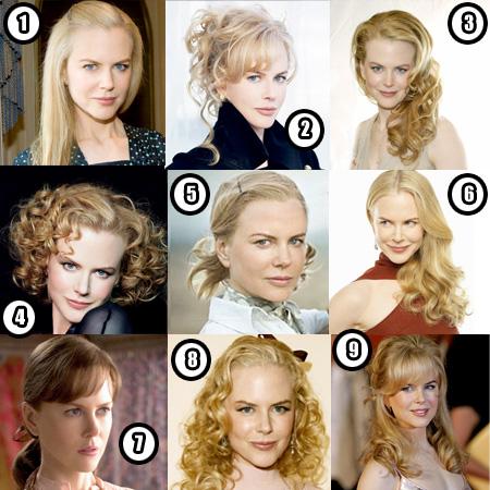 Star look: le metamorfosi di Nicole Kidman