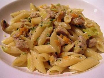 Ricette light: pasta tonno e zenzero