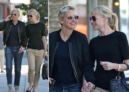 Portia de Rossi e Ellen DeGeneres innamorate più che mai!