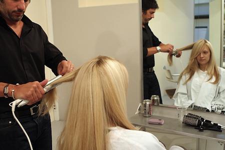 stiratura capelli lissage brasiliano