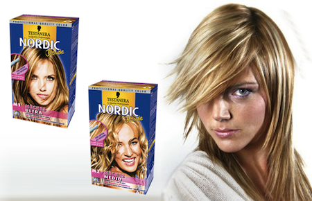 testanera nordic blonde meches