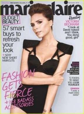 Victoria Beckham star della copertina di Marie Claire