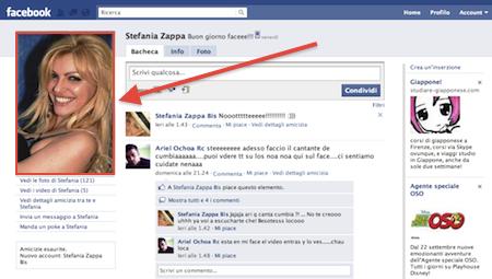 vip su facebook foto profilo