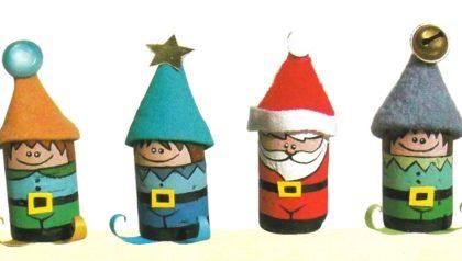 Addobbi natalizi: folletti di Natale con tappi di sughero