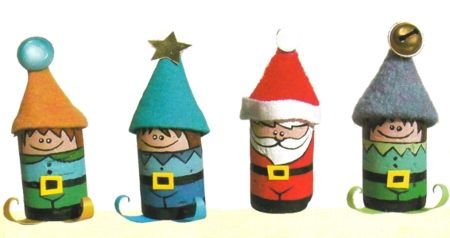 Lavoretti Di Natale Tappi Sughero.Addobbi Natalizi Folletti Di Natale Con Tappi Di Sughero Pourfemme