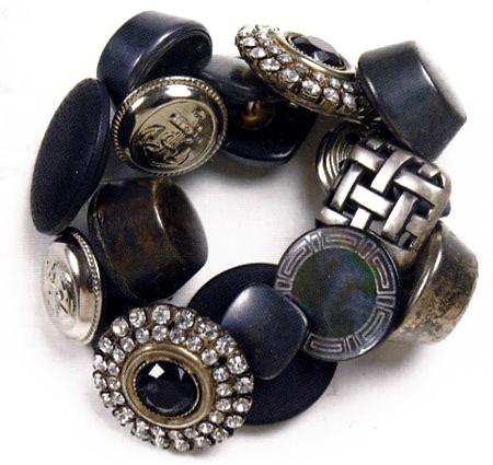 Creare gioielli bracciale bottoni