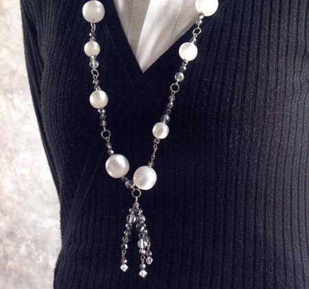 Creare gioielli collana perle