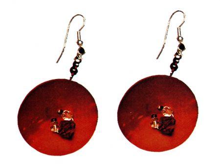 Creare gioielli orecchini fai da te bottone