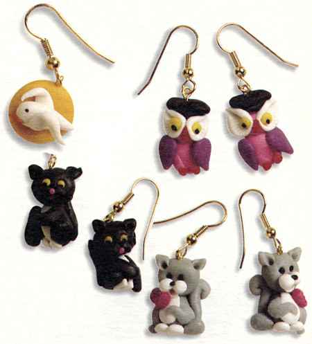 Gioielli fai da te: orecchini con gli animaletti