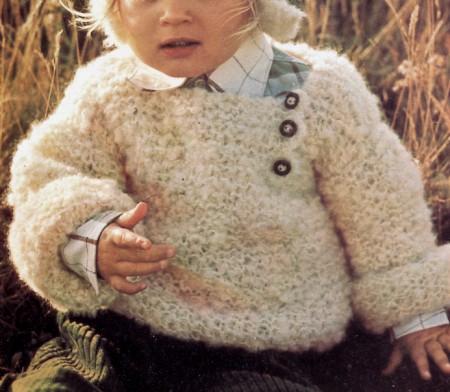 Lavori a maglia: pullover per neonato fai da te
