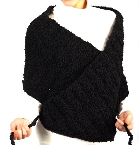 Schemi maglia: un coprispalle semplice da realizzare