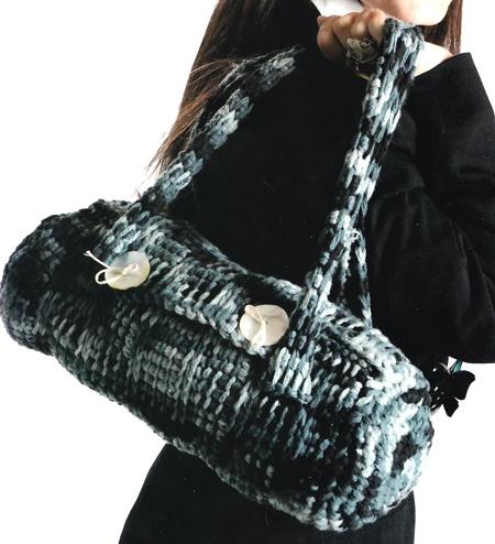 Schemi uncinetto: una borsa di lana fai da te